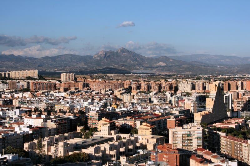 Alicante fotografia stock immagine di architettura - Stock uno alicante ...