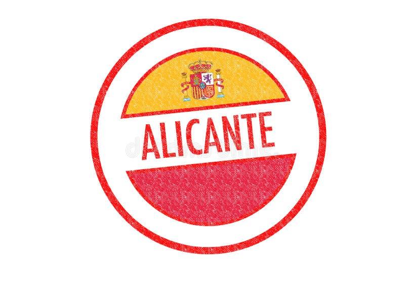 Alicante vector illustratie