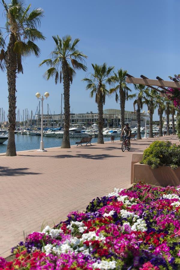 Alicante - Costa del Sol - Spanje stock fotografie