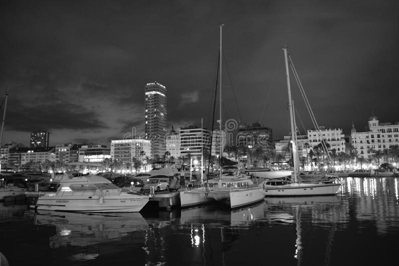 Alicante espagne royaltyfri bild