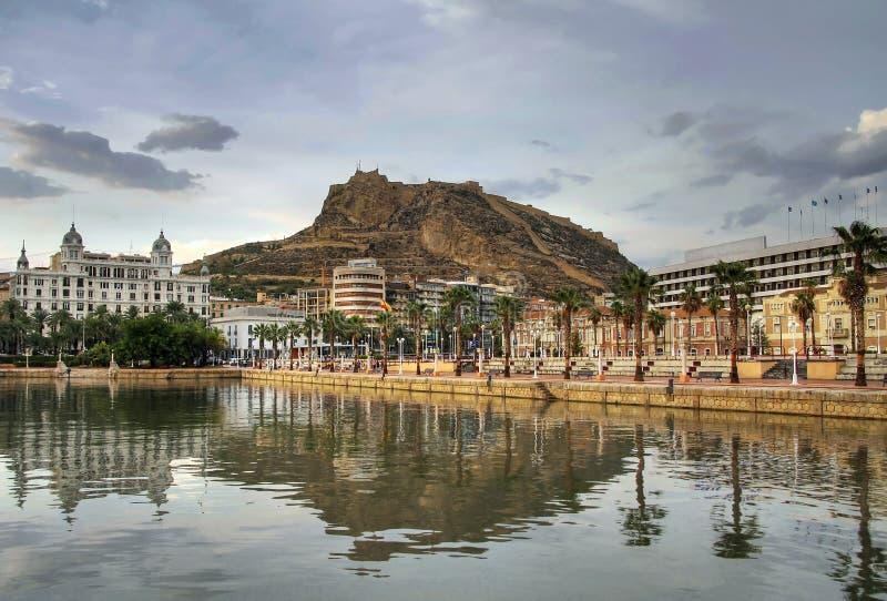 Download Alicante harbor stock photo. Image of coastal, part, europe - 12696050