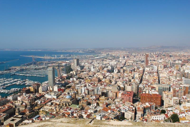 Alicante, Spanje Reis aan Spanje stock foto