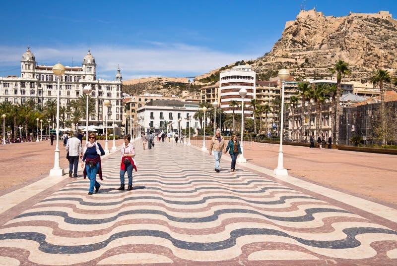 Alicante w Hiszpania obrazy stock