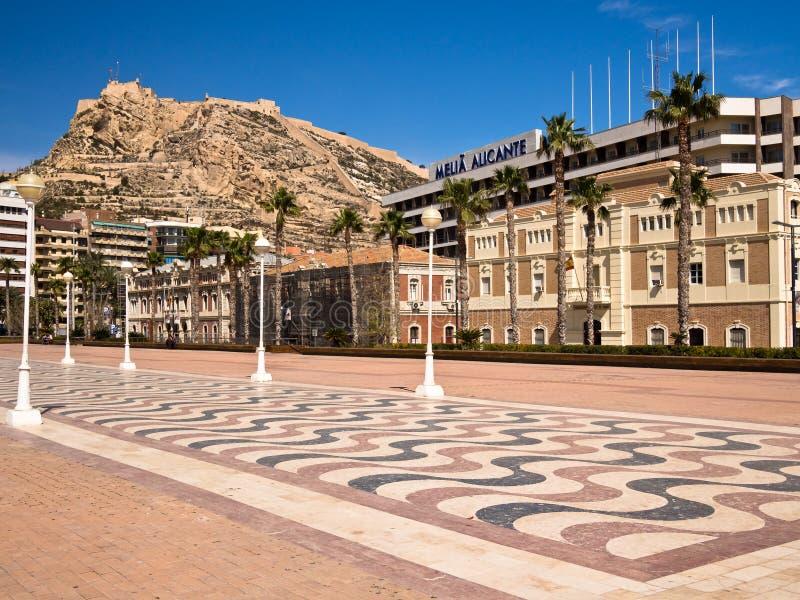 Alicante w Hiszpania obraz stock