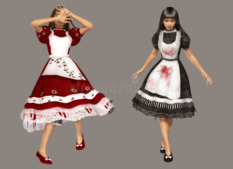 Download Alice stock illustration. Image of girls, ladies, beautiful - 8651444