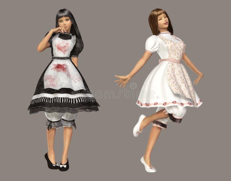 Download Alice stock illustration. Image of adorable, feminine - 8651461