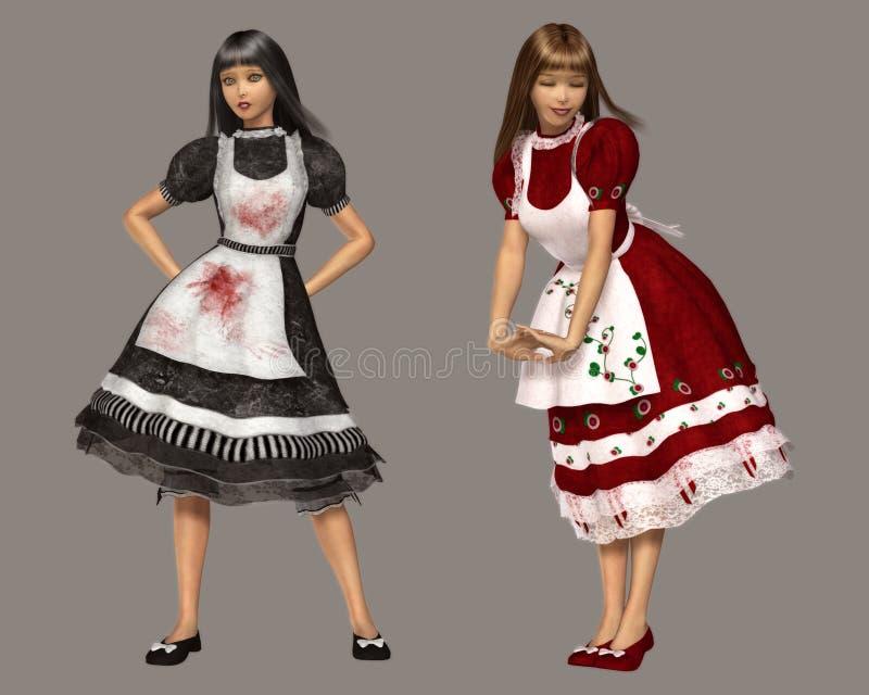 Download Alice illustration stock. Illustration du rendu, féminin - 8651479
