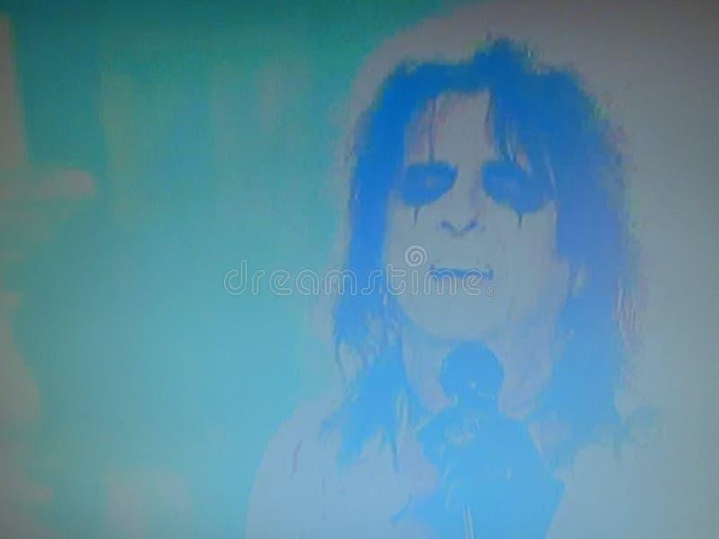 Alice Cooper fotografia stock libera da diritti
