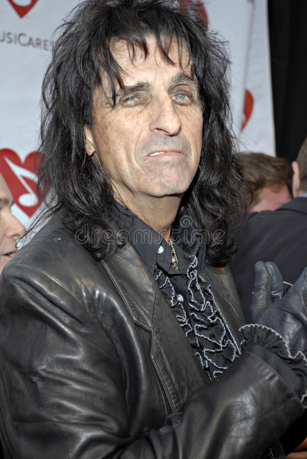 Download Alice Cooper On The Red Carpet. Editorial Photo - Image of music, legend: 15400286