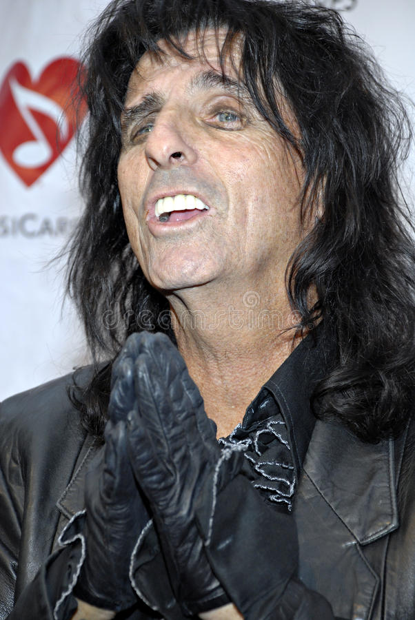 Download Alice Cooper On The Red Carpet. Editorial Photo - Image of hollywood, entertainer: 15400291