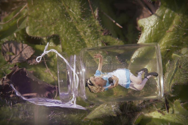 Alice i underland arkivbild