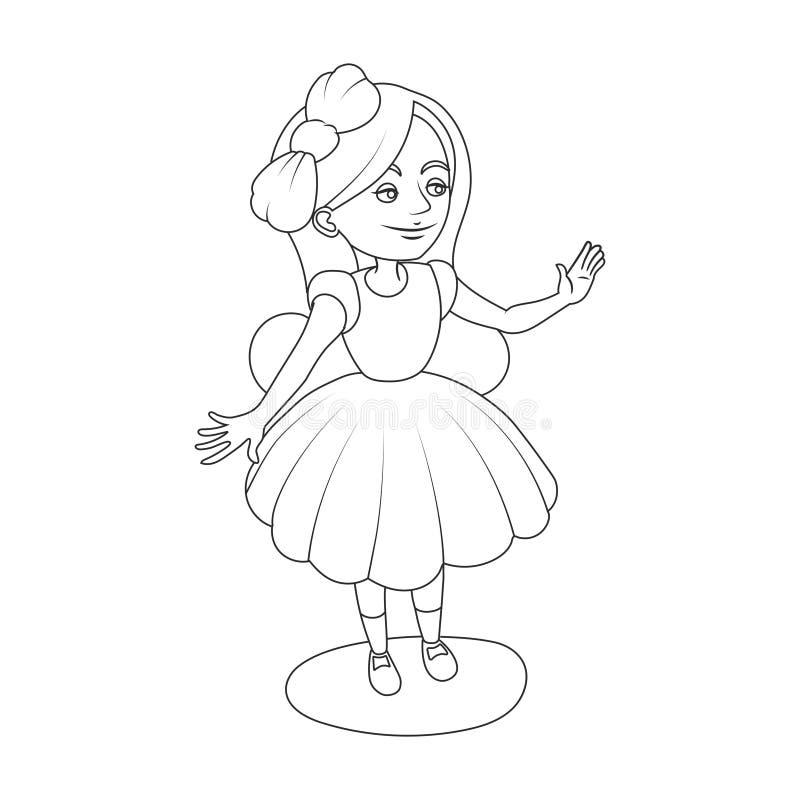 Alice krainy cudów dziewczyny kolorystyki książki wektor ilustracja wektor
