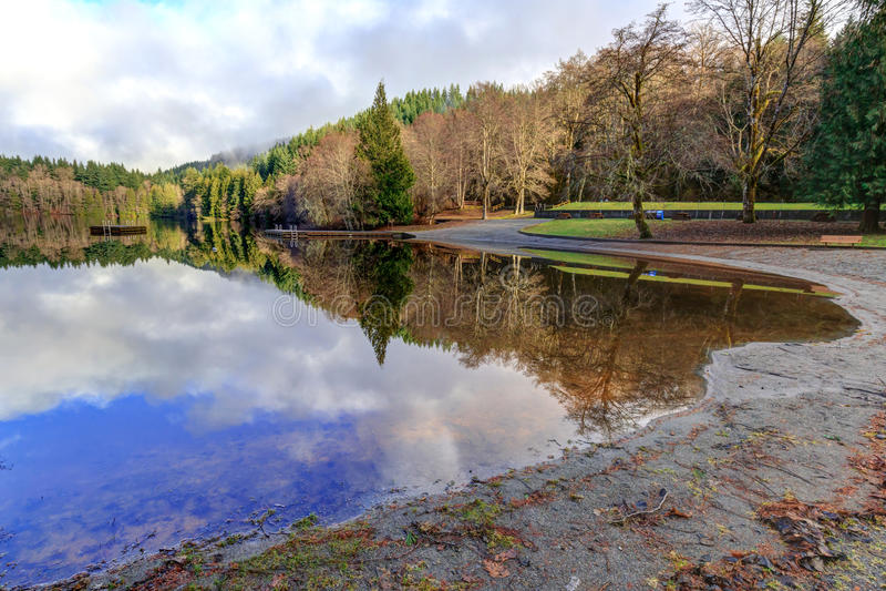 Alice Lake fotografía de archivo libre de regalías
