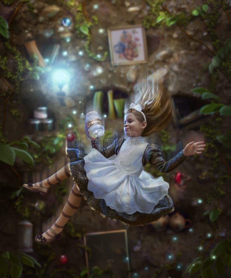Alice nel paese delle meraviglie fotografia stock libera da diritti