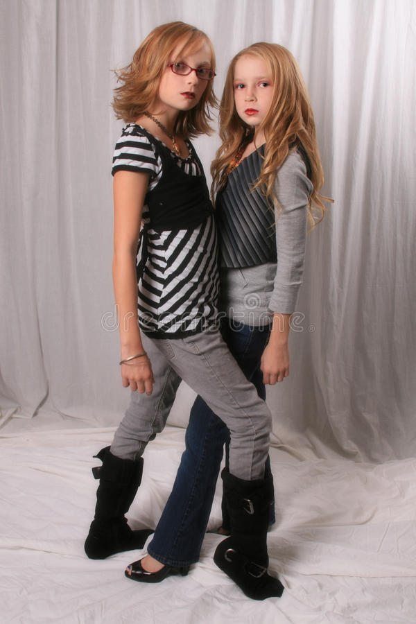 Download Alice And Rosalie Look Alikes 2 Stock Photo - Image: 11488592