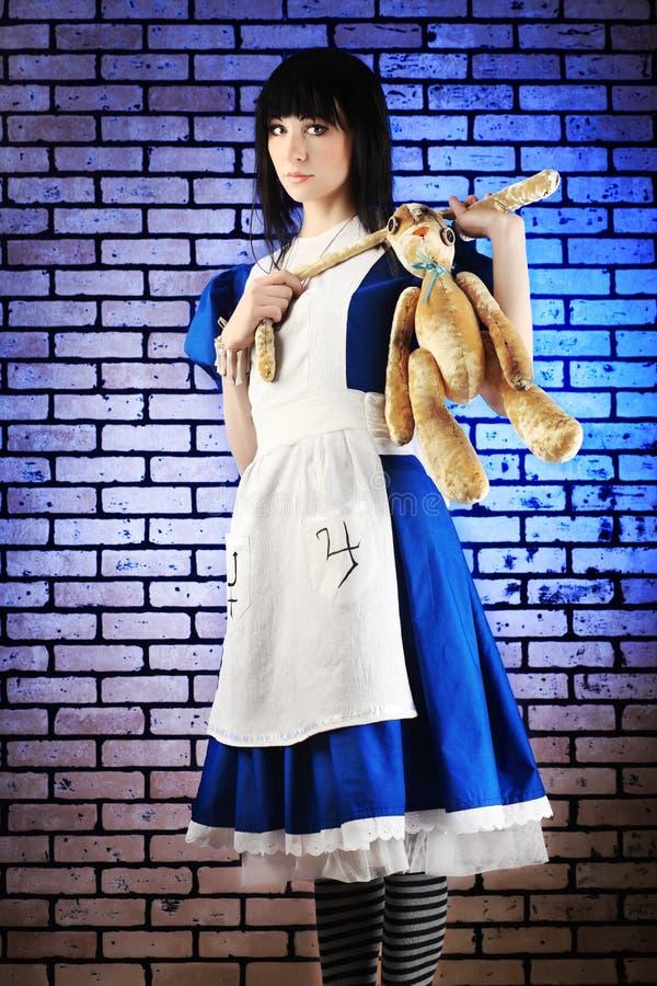 Alice-Spiel stockfotos
