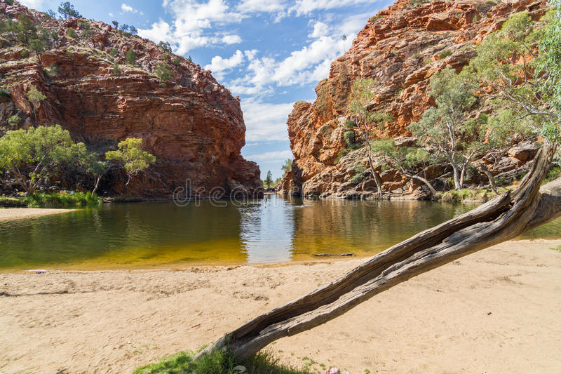 Alice Springs в северных территориях, Австралии стоковое изображение rf