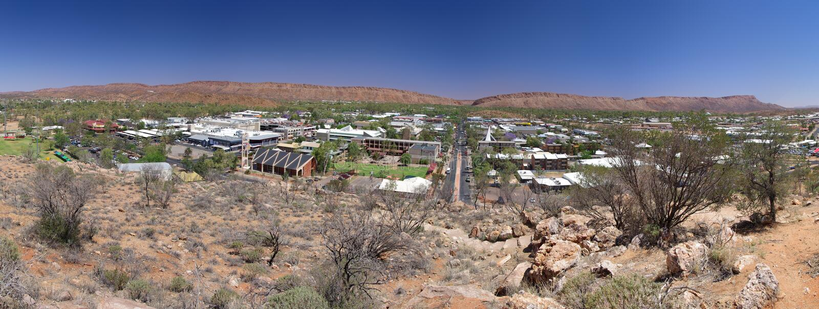 Alice Springs stock foto