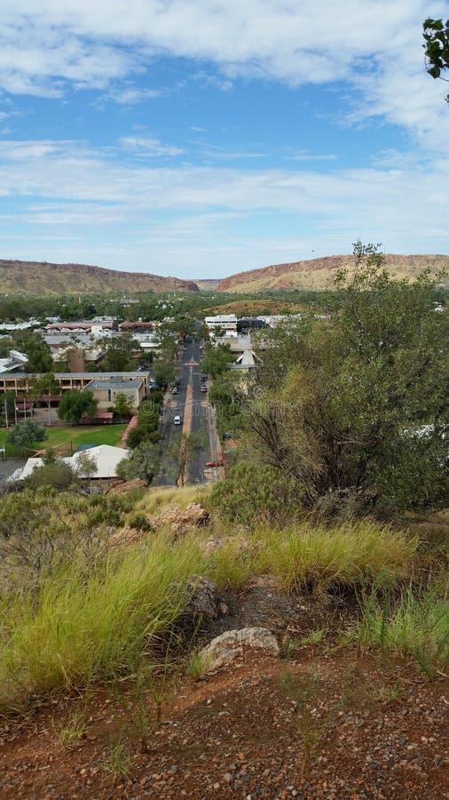 Alice Springs cityscape3 fotos de archivo libres de regalías