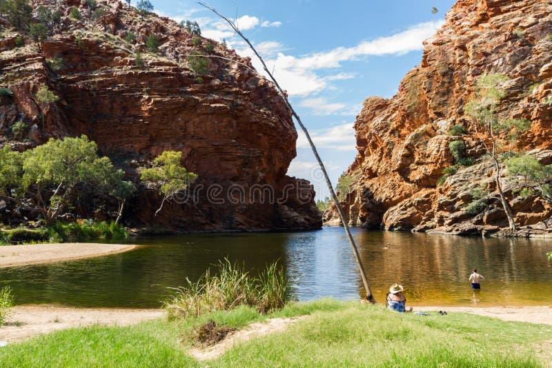 Alice Springs im Nordterritorium, Australien lizenzfreie stockfotografie