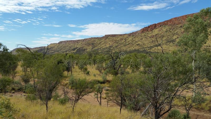 Alice Springs mountain2 fotos de archivo libres de regalías