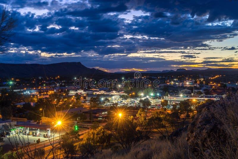 Alice Springs, Noordelijk Grondgebied, Australië royalty-vrije stock afbeelding
