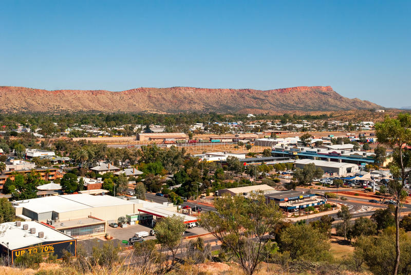Alice Springs (Nordterritorium Australien) lizenzfreie stockfotografie