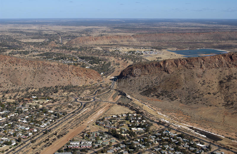 Alice Springs. In the Northern Territory of Australia royalty free stock photos