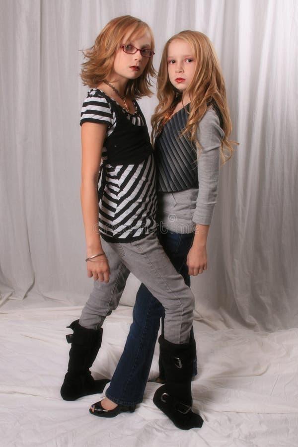 Alice-und Rosalie-Blick alikes 2 stockfotografie