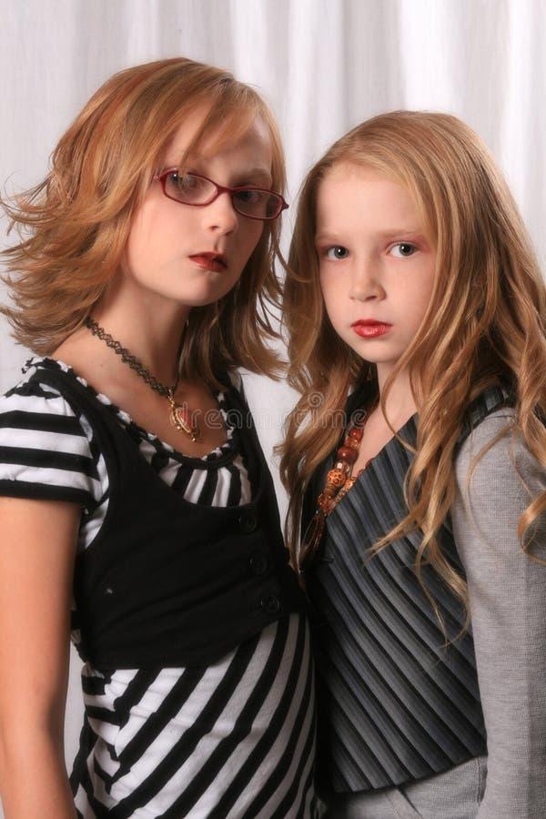 Alice-und Rosalie-Blick alikes 3 lizenzfreies stockfoto