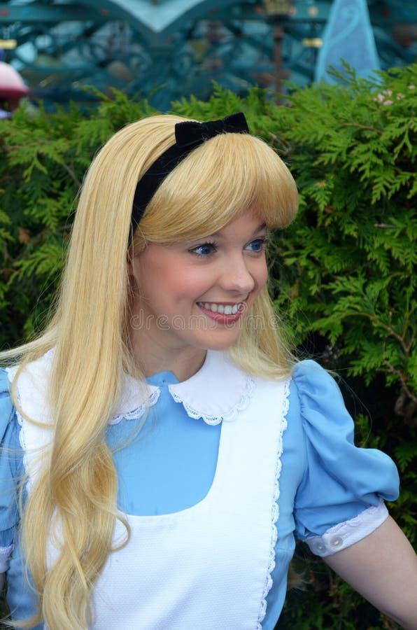 Alice w krainie cudów zdjęcie royalty free