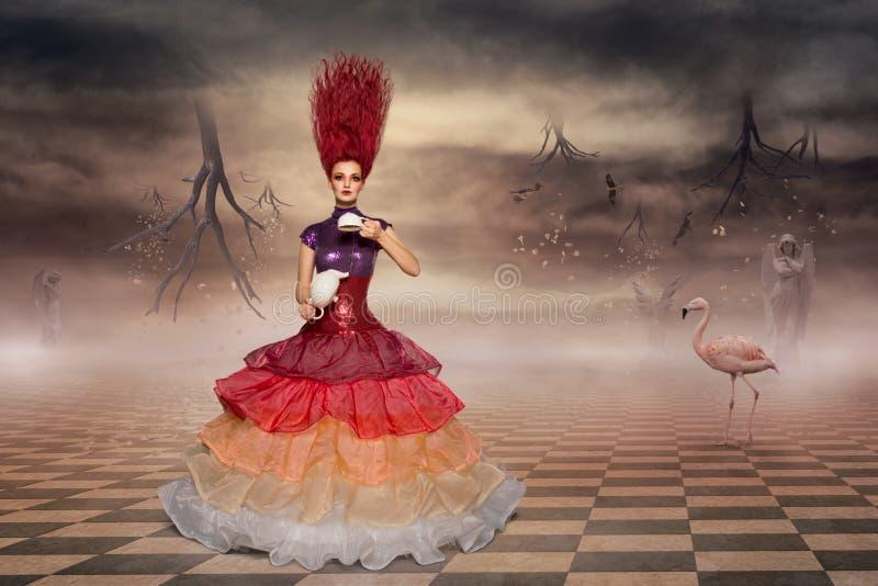 Download Alice in wonderland stock image. Image of surreal, fashion - 41543529