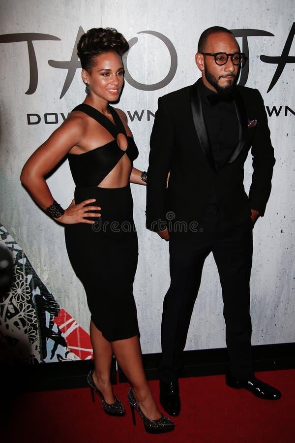 Download Alicia Keys, Swizz Beatz editorial stock photo. Image of hotel - 34115243