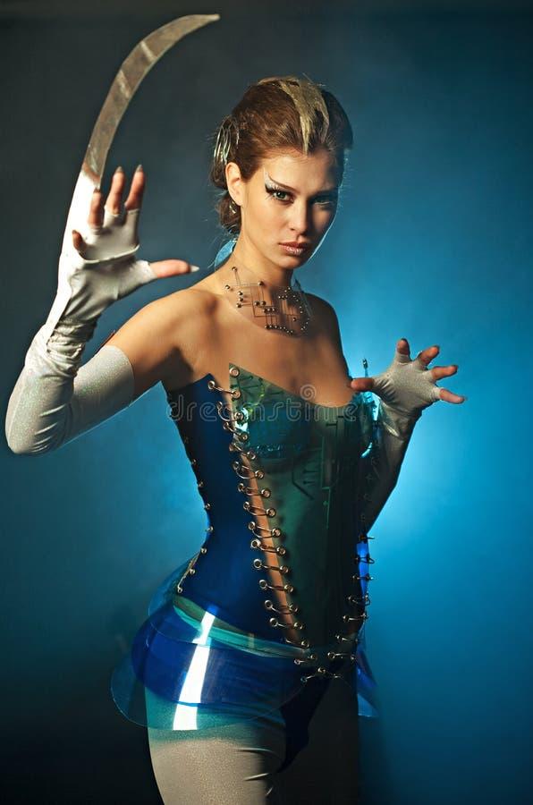 alien женщина красотки стоковая фотография
