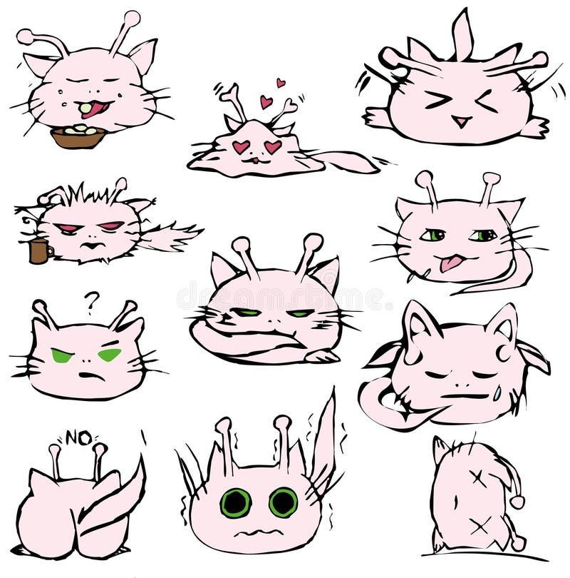 alien кот бесплатная иллюстрация