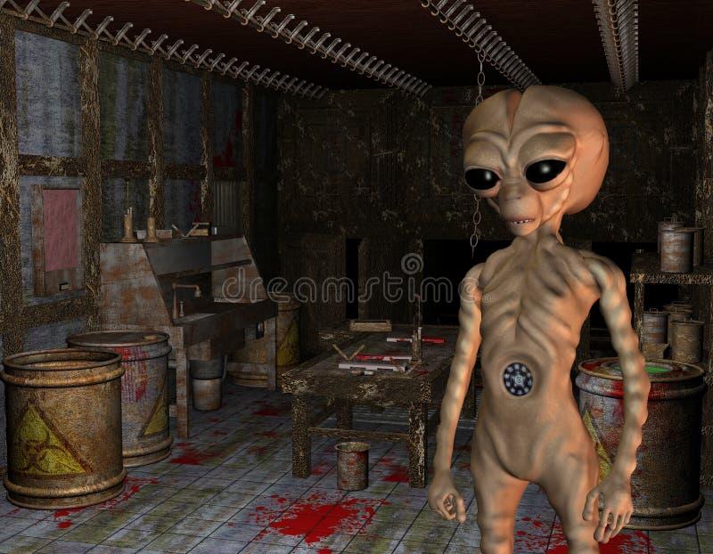 alien лаборатория бесплатная иллюстрация