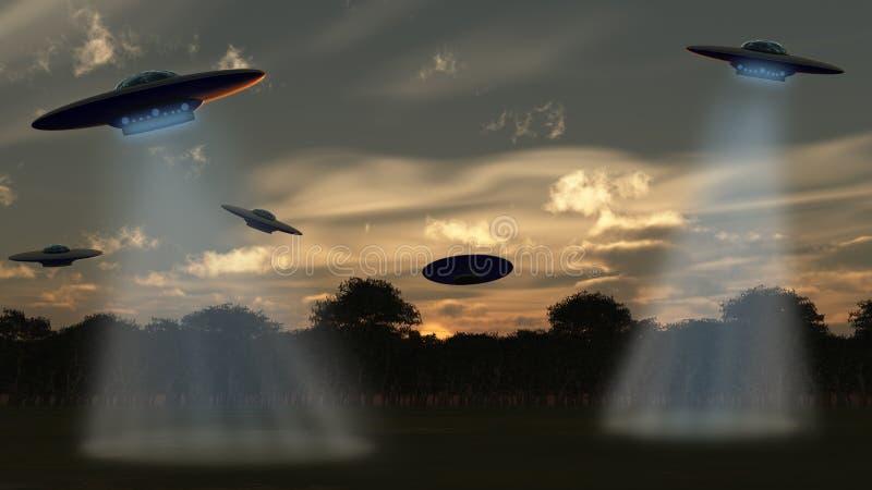 alien нападение бесплатная иллюстрация