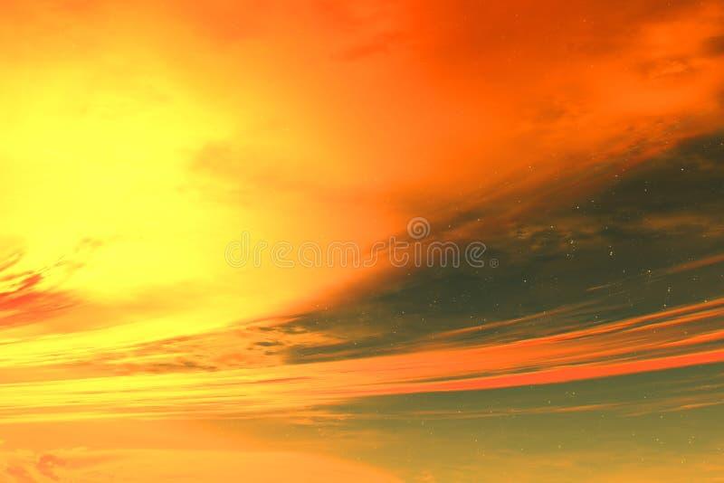 alien небо бесплатная иллюстрация