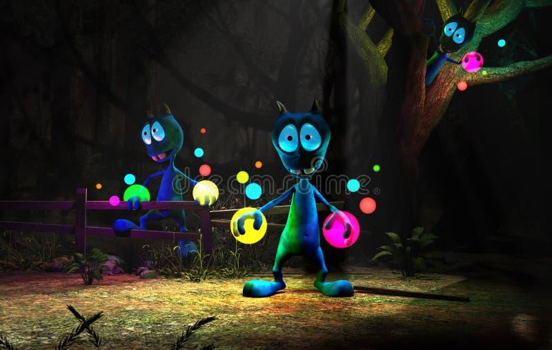 alien персонаж из мультфильма волшебный бесплатная иллюстрация