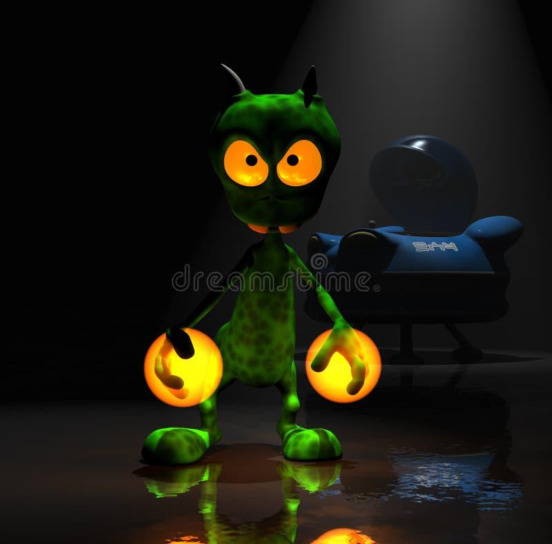 alien персонаж из мультфильма немногая волшебное бесплатная иллюстрация