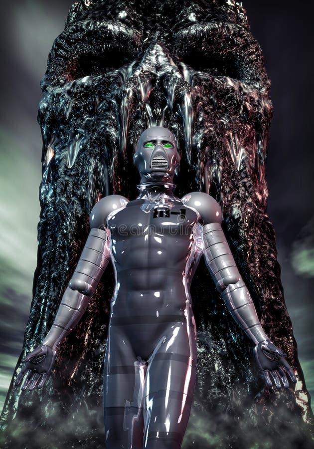 alien робот бесплатная иллюстрация