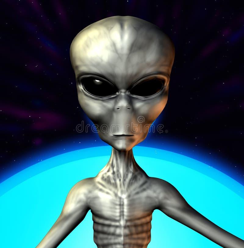 alien серый цвет бесплатная иллюстрация