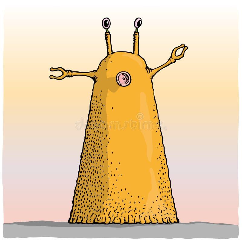 Download Alien stock vector. Image of cartoon, fantasy, funny - 12944340