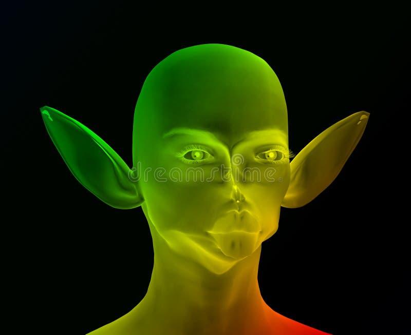 Download Alien 14 stock illustration. Illustration of people, weird - 89216