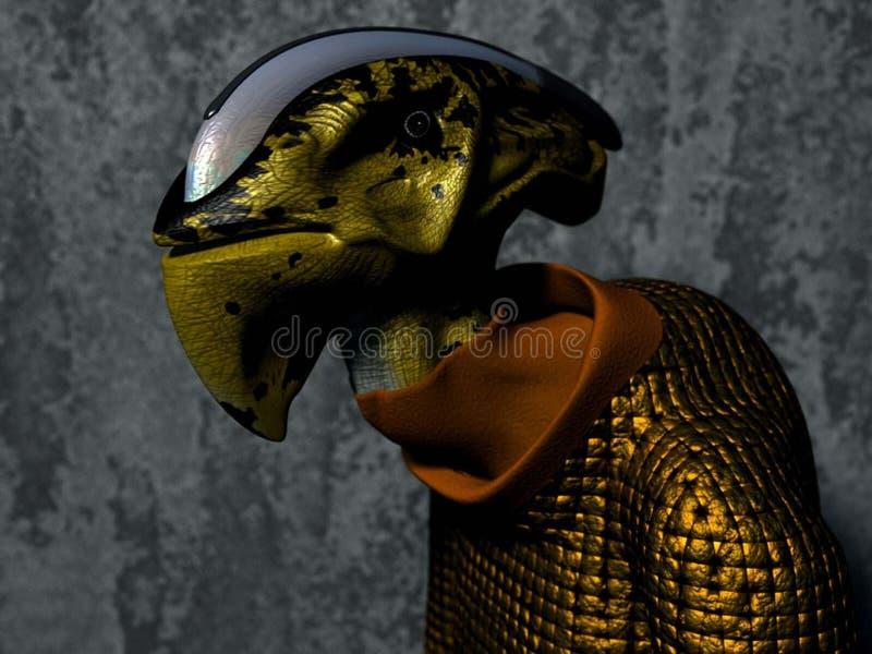 Download Alien stock illustration. Image of cartoon, species, background - 169898