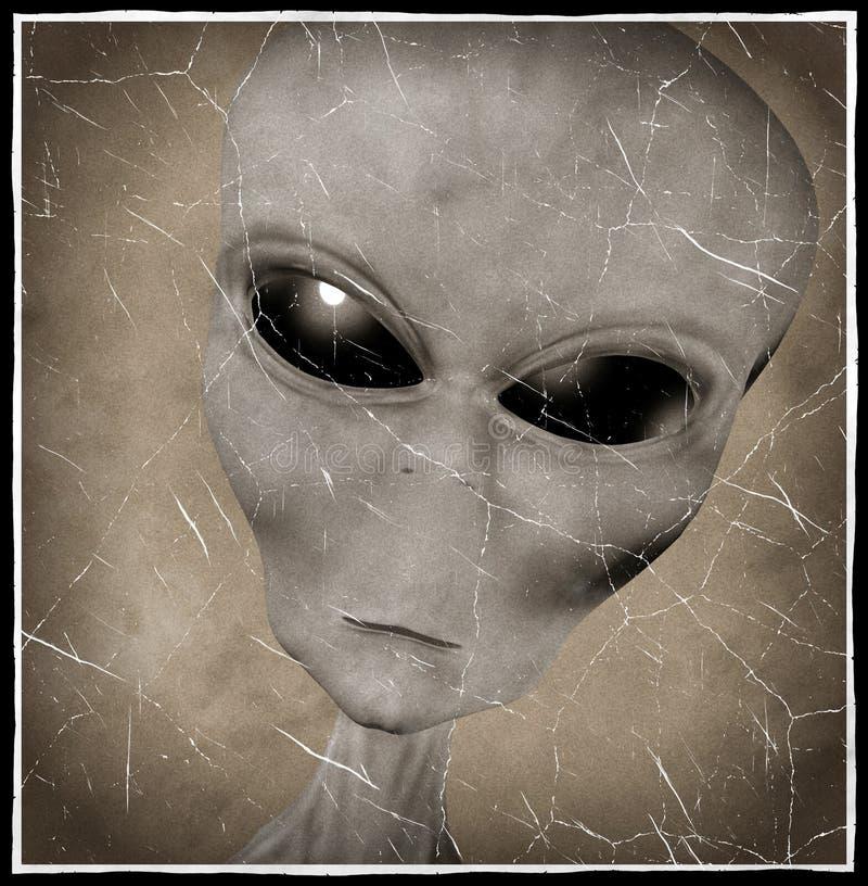 Alien royalty free illustration