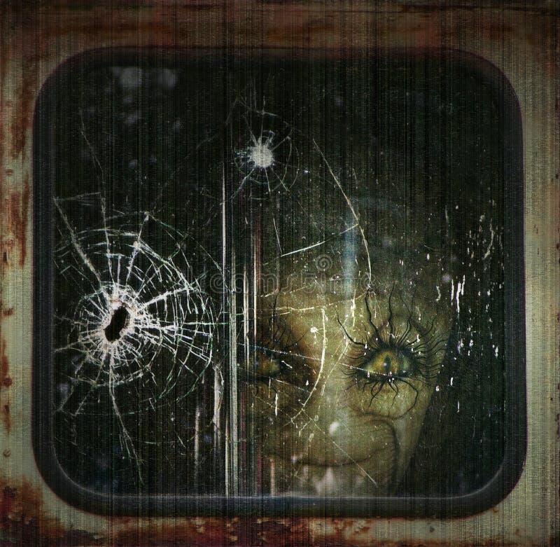 Download Alien stock illustration. Illustration of face, supernatural - 26092027