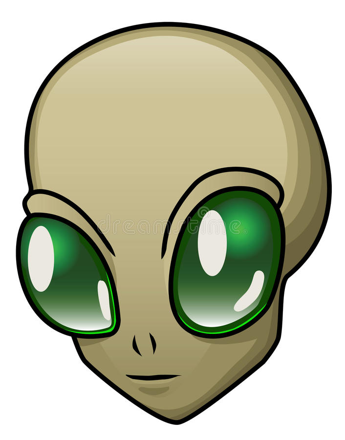Download Alien stock vector. Image of creature, celebrate, isolated - 29468685