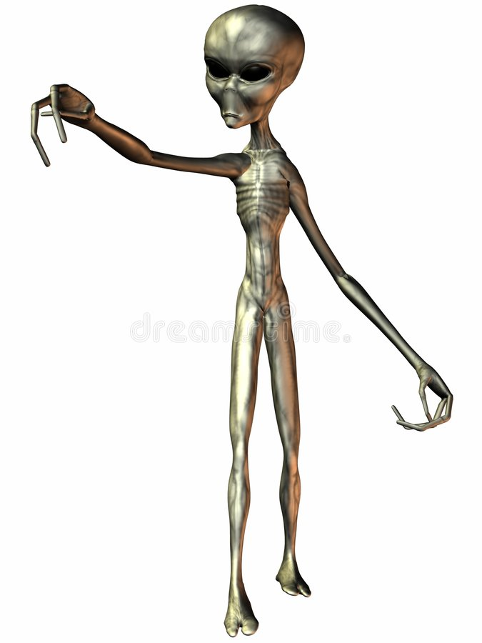 Alien stock illustration