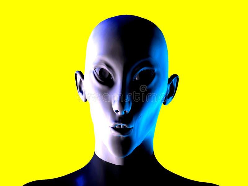 Alien 6 vector illustration